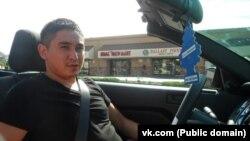 Алишер Омаров, разыскиваемый ФБР по подозрению в мошенничестве. Фотография из социальной сети VKontakte.