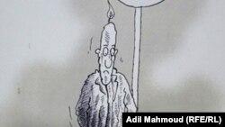 Abd al-Halim Ýasiryň çeken karikaturasy.