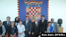 Hrvatski političari i predstavnici Nansen instituta, 12. rujan 2012.