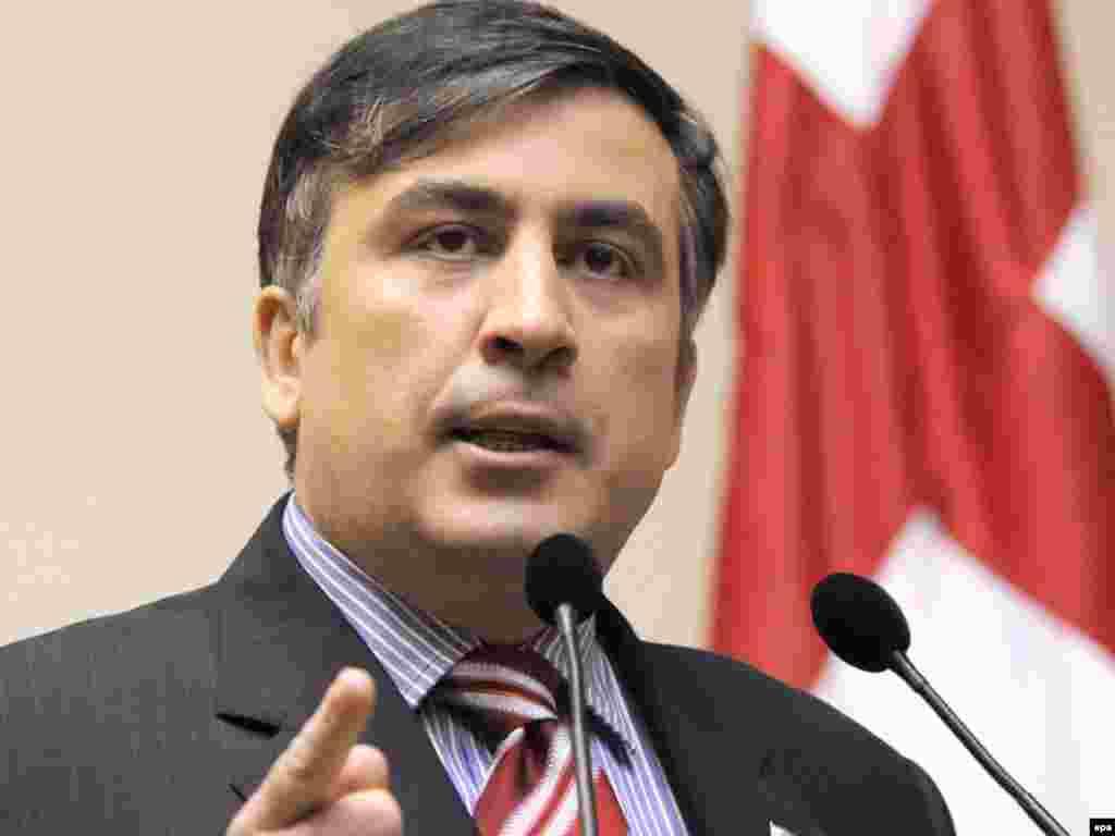 Georgia -- President Mikheil Saakashvili, 07Jun2008