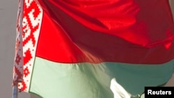 Флаг Беларуси. Иллюстративное фото.