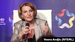 Вицеопремиерката за европски прашања Теута Арифи