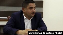 Глава города Андижана Дильмурод Рахматуллаев.