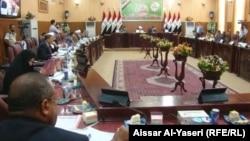 مجلس محافظة النجف في إجتماع