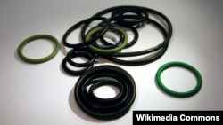 One of the men is accused of trying to smuggle rubber O-rings, which can be used in aircraft hydraulic systems and landing gear (file photo).
