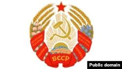 Герб БССР у 1981–1991 гг