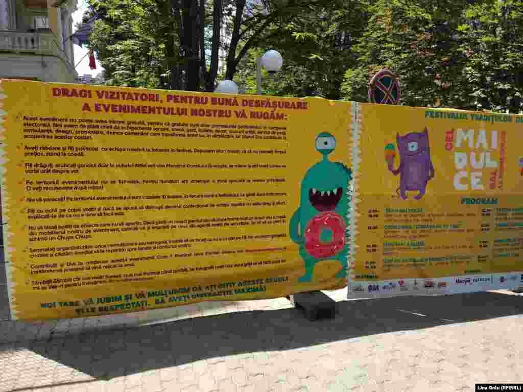 Moldova - Festivalul MAI Dulce 2018, Festival, Chisinau