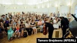 Moldo Crescendo Classical Festival, la concertul de la Muzeul Național de Artă