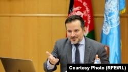 اجمل احمدی سرپرست دافغانستان بانک