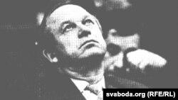 Мікалай Дземянцей. Фота Сяргея Грыца з газэты «Свабода»