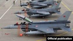 Истребители F-16 ВВС Турции. Иллюстративное фото.