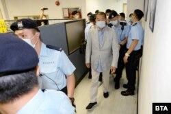 Arestarea lui Jimmy Lai.