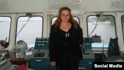 Світлана Медведєва, яка мріє стати капітаном човна