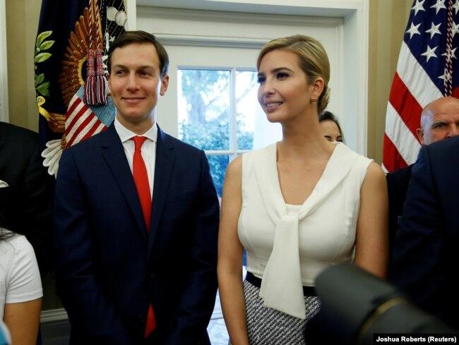 Jared Kushner dhe Ivanka Trump