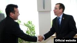 Премиерот Зоран Заев и амбасадорот на САД Џес Бејли - архивска снимка