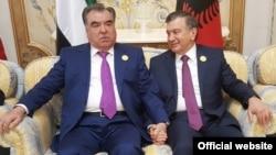 Эмомали Рахмон и Шавкат Мирзияев