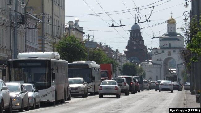 Владимир, центр города
