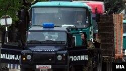 Policijska akcija u Makedoniji