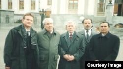 Из архива: Валери Тургай, Мустай Карим, Ренат Харис