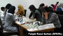 بطولة غرب اسيا لاندية الشطرنج للاناث