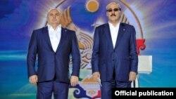 Бывший мэр Махачкалы Муса Мусаев и экс-глава Дагестана Рамазан Абдулатипов