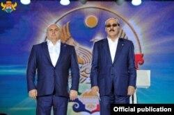 Экс-мэр Махачкалы Муса Мусаев и экс-глава Дагестана Рамазан Абдулатипов
