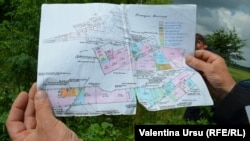Harta cadastrală a terenurilor de la Cocieri