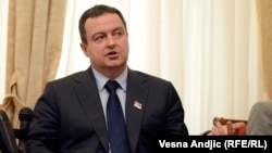 Ministri i Jashtëm serb, Ivica Daçiq.
