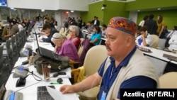 Президент Фонда исследований и поддержки коренных народов Крыма Надир Бекиров.