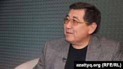 Журналист Ермұрат Бәпи. Алматы. 22 сәуір, 2016 жыл.