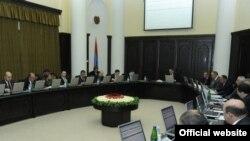 Заседание правительства Армении (архивное фото)
