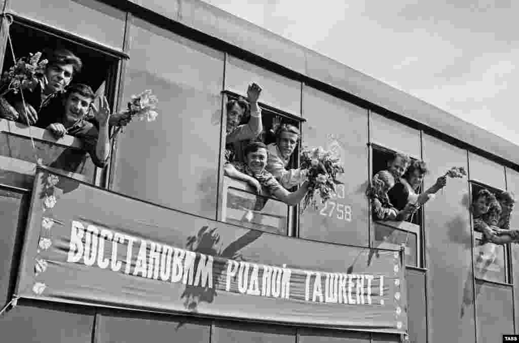 Монтажники-строители из Винницы направляются Ташкент для оказания помощи после землетрясения.