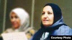 المذيعة العراقية أمل المدرس