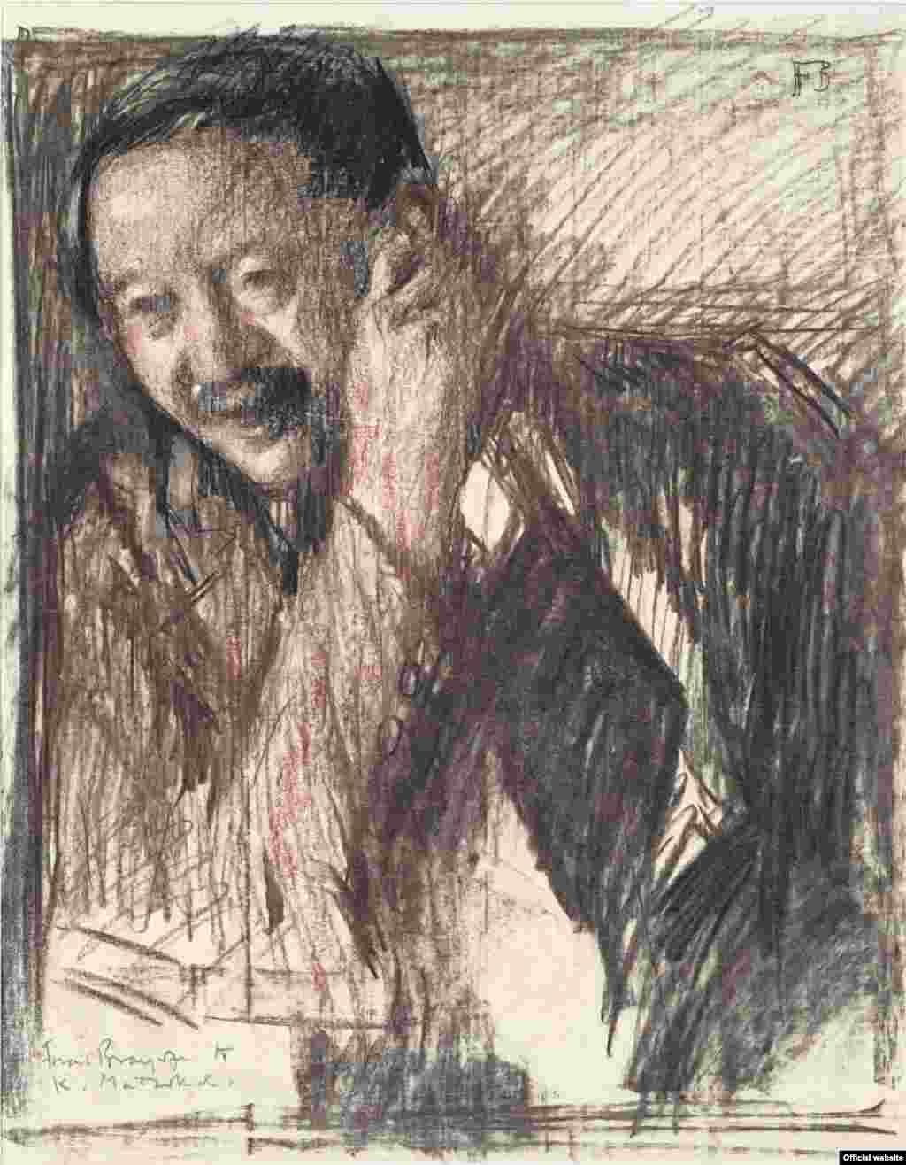 Frank Brangwyn, Portretul lui Kojiro Matsukata. The National Museum of Western Art, Tokyo.