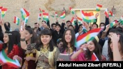 Kurds in Iraq celebrate Kurdish Flag Day on December 17, recalling the usage of the pan-Kurdish flag in Mahabad, among other breakaway regions. The flag is banned in Iran, which has fought Kurdish separatists along the Iraqi and Turkish borders.