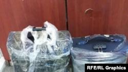 Saimaiti je dao fotografiju kofera za koje je rekao da su ispunjeni gotovinom, spremni da ih kurir odnese u inostranstvo.