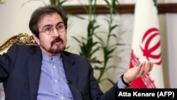 Bahram Ghasemi, Iran's foreign ministry spokesman. File photo