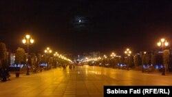 Samsun, bulevardul care duce de la Badirma la Meydan
