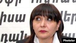 Бывший член партии «Наследие» Зоя Тадевосян