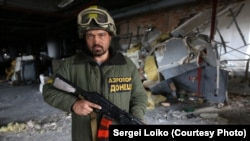Вадим Борсяк, боєць 74-го окремого розвідувального батальйону (Фото Сергія Лойка)