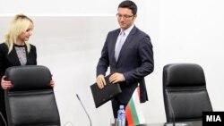 Бугарскиот министер за надворешни работи Кристиан Вигенин