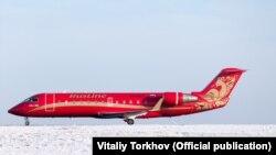"Bombardier CRJ-100 авиакомпании ""Руслайн"""