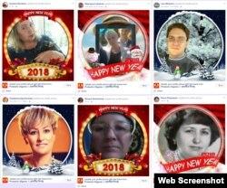 Серед тих, хто вподобав російську символіку, популярний індійський засіб створення аватарок. Скріншот
