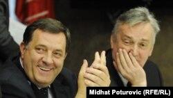 Milorad Dodik i Zlatko Lagumdžija