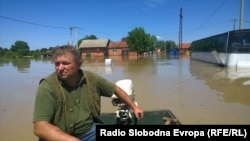 Domaljevac: Rekordna visina vode