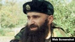 "Шамиль Басаев (скриншот из видео ""AP"")"