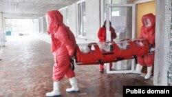 Транспортування хворого на COVID-19 у Росії