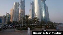 В столице Катара Дохе.