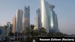 Катардын баш калаасы Доха шаары.