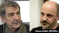 Miki Manojlović i Kokan Mladenović